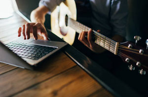 Free Online Guitar Lessons Burgess Hill
