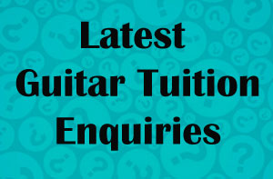 Guitar Tuition Enquiries Hamilton (01698)
